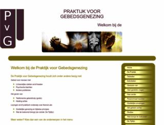 gebedsgenezing.nl screenshot