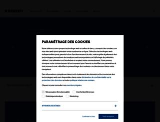 geberit-aquaclean.fr screenshot