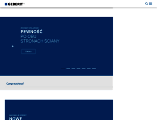 geberit.pl screenshot