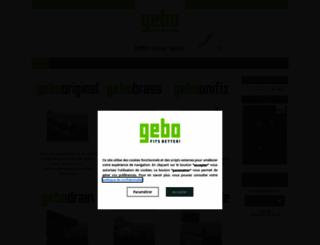gebo.fr screenshot