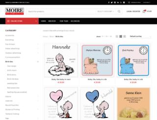 geboortetegeltje.nl screenshot