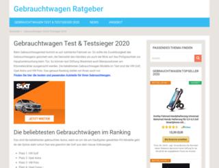 gebrauchtwagen-testsieger.de screenshot