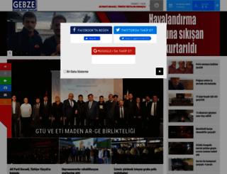 gebzehaber.net screenshot