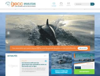 gecc-normandie.org screenshot