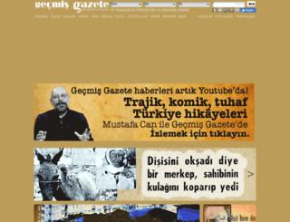 gecmisgazete.com screenshot