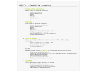 gecox.com screenshot