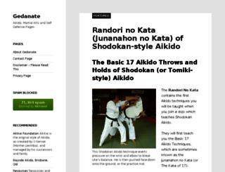 gedanate.com screenshot