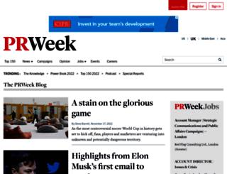 gedcarrollblog.prweek.com screenshot
