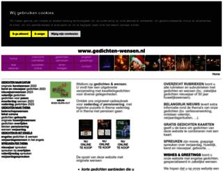 gedichten-wensen.nl screenshot