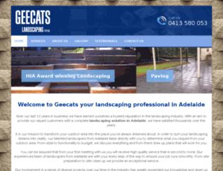 geecats.com.au screenshot