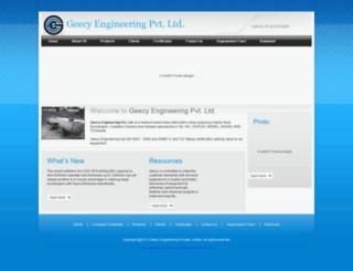 geecy.com screenshot