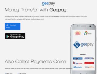 geeglobia.in screenshot