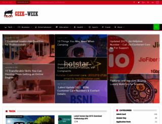 geek-week.net screenshot