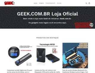 geek.com.br screenshot