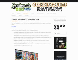 geekanoids.co.uk screenshot