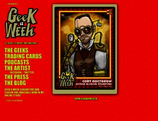 geekaweek.net screenshot