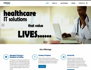 geekayinfotech.com screenshot
