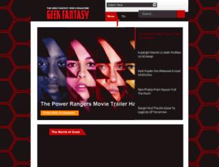 geekfantasymag.com screenshot