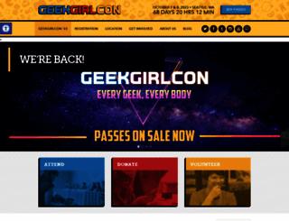 geekgirlcon.com screenshot