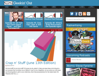 geekin-out.com screenshot