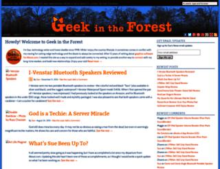 geekintheforest.com screenshot