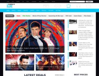 geeklife.thedigitalfix.com screenshot