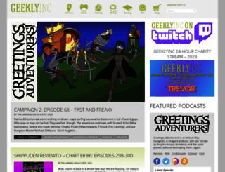 geeklyinc.com screenshot