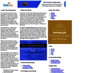 geekmcq.com screenshot