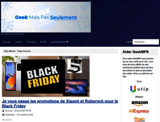 geekmps.fr screenshot