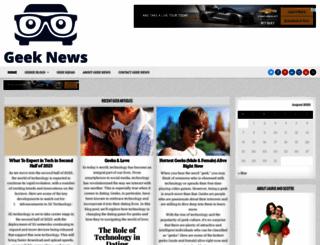 geeknews.net screenshot