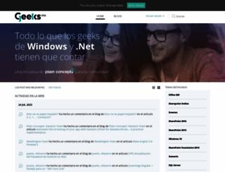 geeks.ms screenshot