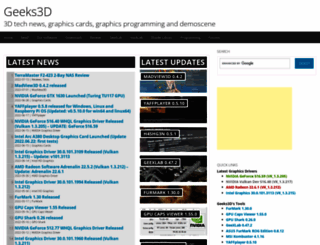 geeks3d.com screenshot