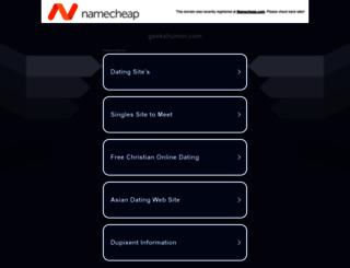 geekshumor.com screenshot