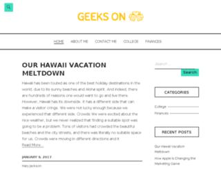 geeksonbeer.com screenshot