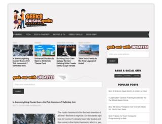 geeksraisinggeeks.com screenshot