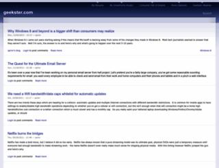 geekster.com screenshot