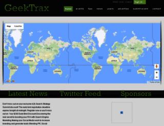 geektrax.com screenshot