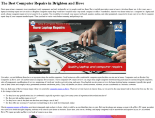 geekwebservices.co.uk screenshot
