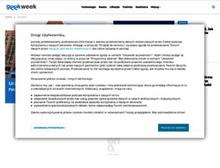 geekweek.pl screenshot