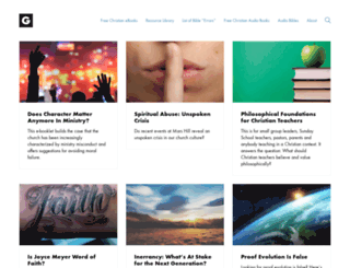 geekychristian.com screenshot