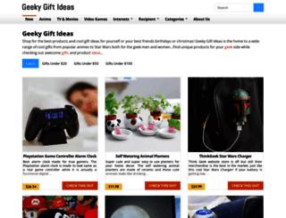 geekygiftideas.com screenshot