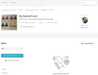 geekywood.com screenshot