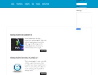 geemozo-theme.blogspot.in screenshot
