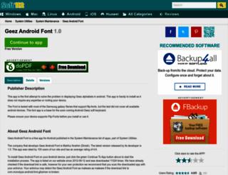 geez-android-font.soft112.com screenshot