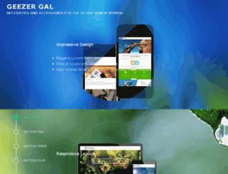geezergal.com screenshot