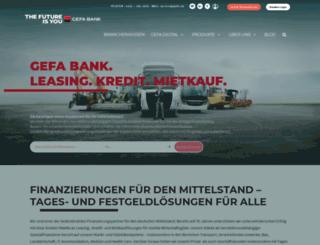 gefa.de screenshot