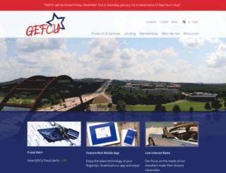 gefcu-austin.org screenshot