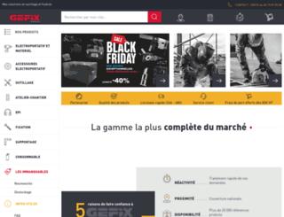 gefix.fr screenshot