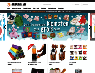 geheimshop.de screenshot