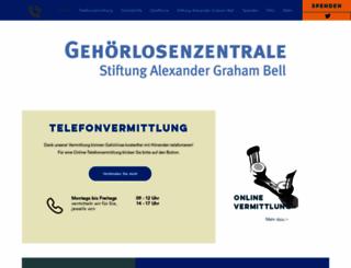 gehoerlosenzentrale.ch screenshot